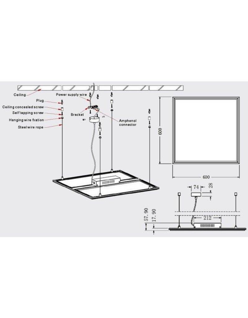 Montageelemente LED Panele