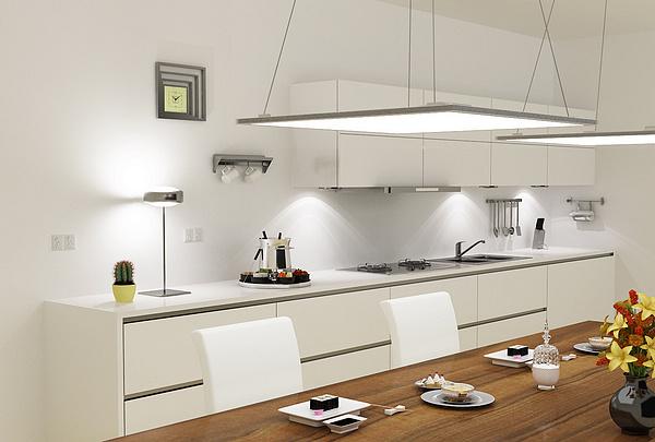stunning led einbauleuchten küche ideas - unintendedfarms.us ... - Led Einbauleuchten Küche