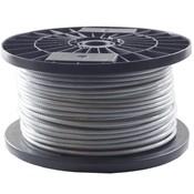 Drahtseile 3/4 mm PVC-ummantelt 100 meter auf Rolle