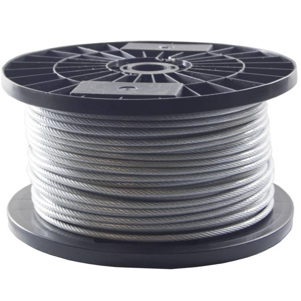Drahtseile 3/4 mm PVC-ummantelt 100 meter kaufen - Staalkabelstunter