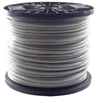 Drahtseile 6/8 mm PVC-ummantelt 100 meter