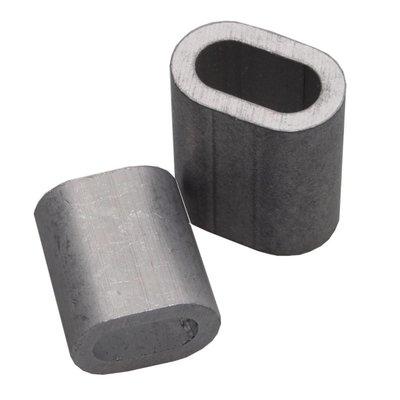 Draadklemmen 5mm aluminium