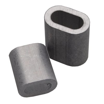 Pressklemme 6mm aluminium