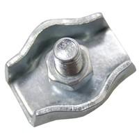 Staaldraadklem verzinkt 4mm