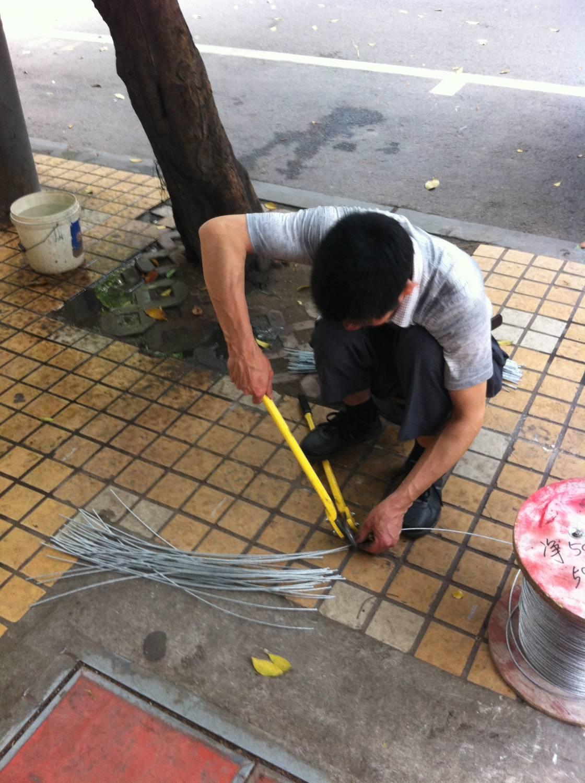 Staalkabel voorzien van een Lus (China)