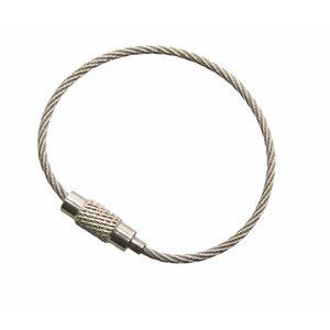 RVS Staaldraad 110 mm 'armband'