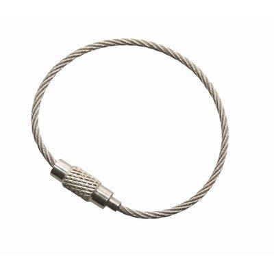 roestvaststaal Staaldraad 110 mm Staaldraad sleutelring
