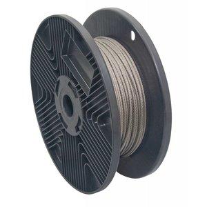 RVS Staalkabel 2 mm een lengte van 100 meter