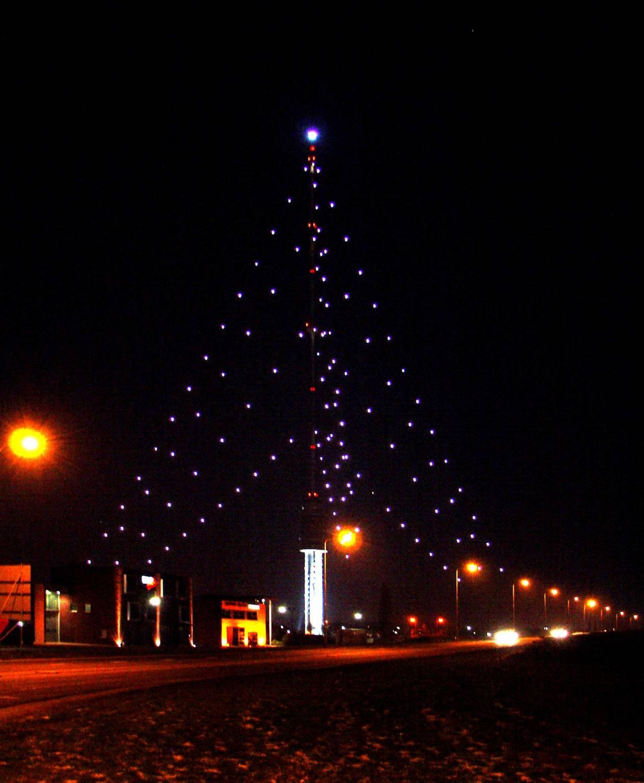 Grootste Kerstboom opgetuigd