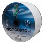 Filomat roestvaststaal Staaldraad 5 mm wit PVC omspoten 250 meters