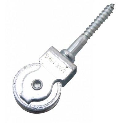 Blockseilrolle Mit Schraubedraad 30mm