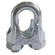 Draadklem voor staalkabel tot 5mm - din741