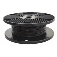 Staalkabel zwart geplastificeerd 1.7/2.5mm