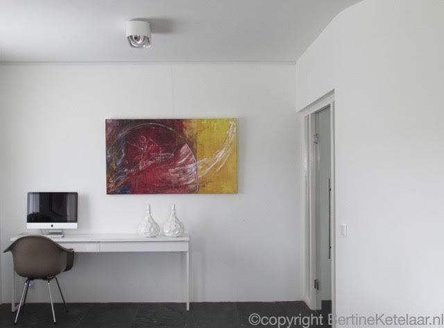 Schilderijen ophangen bertine ketelaar