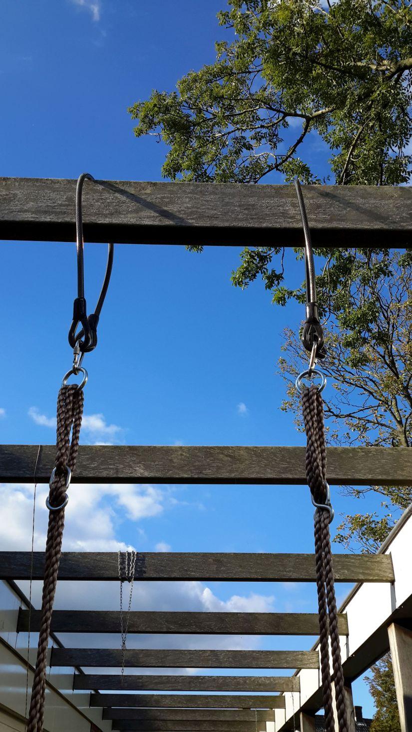 Schommel ophangen