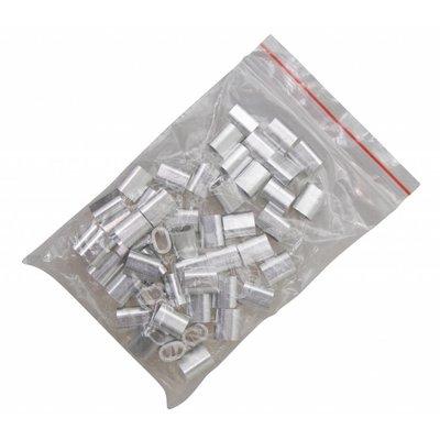 Draadklem 2mm voordeelpack 1000 stuks