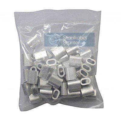 Presshülsen 3mm Vorteil Verpackung  50 Stück