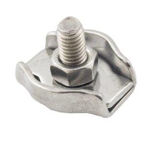 Stahldrahtklem Edelstahl 6 mm