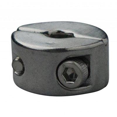 Edelstahl Drahtseiltoppen 5mm M3 twin