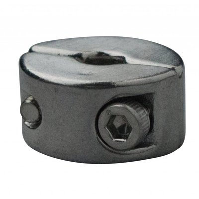 Edelstahl Drahtseiltoppen 3mm M3 twin