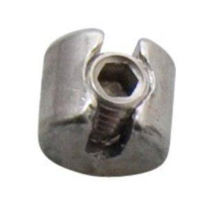 Edelstahl Drahtseilstop 5mm - M10