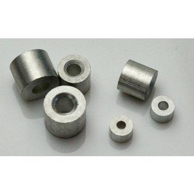 Drahtseil Klemmhülsen 3mm aluminium