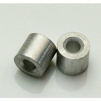 Drahtseil Klemmhülsen 2mm aluminium