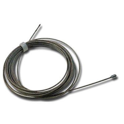 Technx Staalkabel met eindstop 3m - 1mm