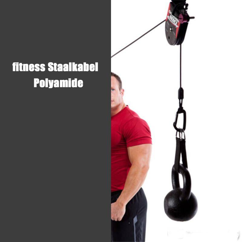 Fitness PA staalkabel