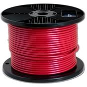 Drahtseile 3/5 mm Rot PVC-ummantelt 100 meter auf Rolle