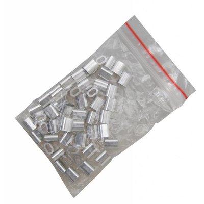 Presseklemmen 2,5mm Vorteil Verpackung  50 Stück
