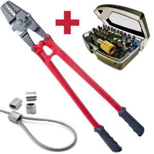 Kabelklemtang 2 - 5mm