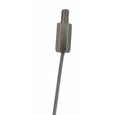 Technx Staalkabel met M4 eindverbinding