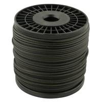 Staalkabel 3 mm Zwart 100 meter