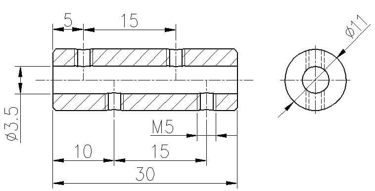 rvs staalkabel verbinder 3mm