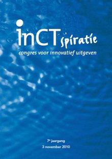 Derk Haank InCTspiratie 2010 - Congres voor innovatief uitgeven - verslag