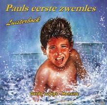 Gerda Luytjes-Mensink Pauls eerste zwemles