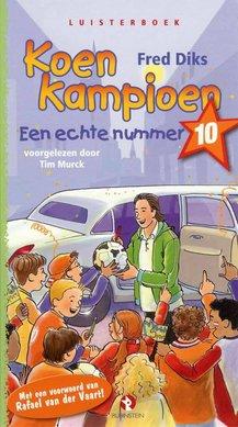 Fred Diks Koen Kampioen - Een echte nummer 10 - Met een voorwoord van Rafael van der Vaart!