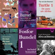 Elfie Tromp Fosfor bundel 1 - Bevat de verhalen: Alfateef - Bassel - De man die naar Mars wilde - Turtle 1: De auto uit Afrika - Bonus: Alva achterna