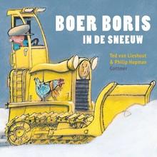 Ted van Lieshout Boer Boris in de sneeuw