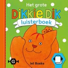 Jet Boeke Het grote Dikkie Dik luisterboek