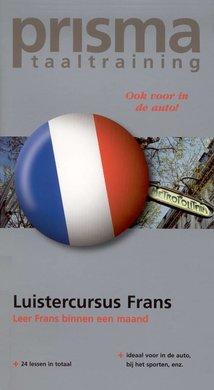 Willy Hemelrijk Luistercursus Frans - Leer Frans binnen een maand (serie: Prisma Taaltraining)