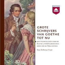 Anthonya Visser Grote schrijvers van Goethe tot nu - Een hoorcollege over de Duitse literatuurgeschiedenis na de Verlichting