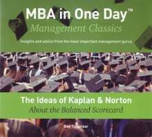 Ben Tiggelaar The Ideas of Kaplan & Norton About the Balanced Scorecard - MBA in One Day - Management Classics