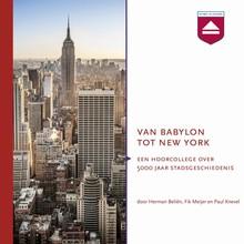 Fik Meijer Van Babylon tot New York - Hoorcollege over 5000 jaar stadsgeschiedenis