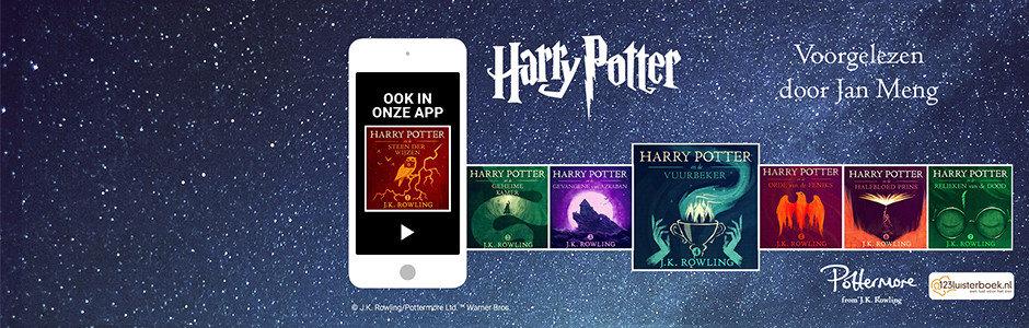 Alle Harry Potter-luisterboeken