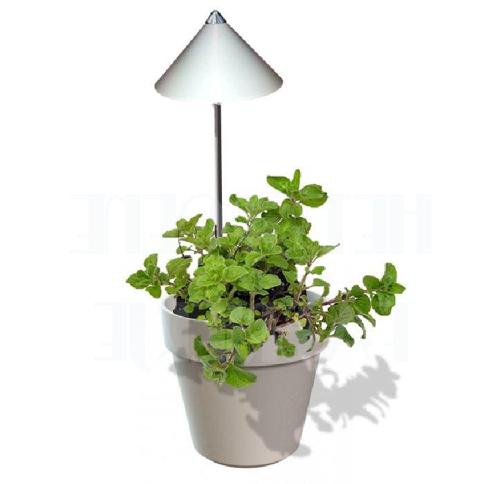 iSun groeilamp: grijs - wit - koper