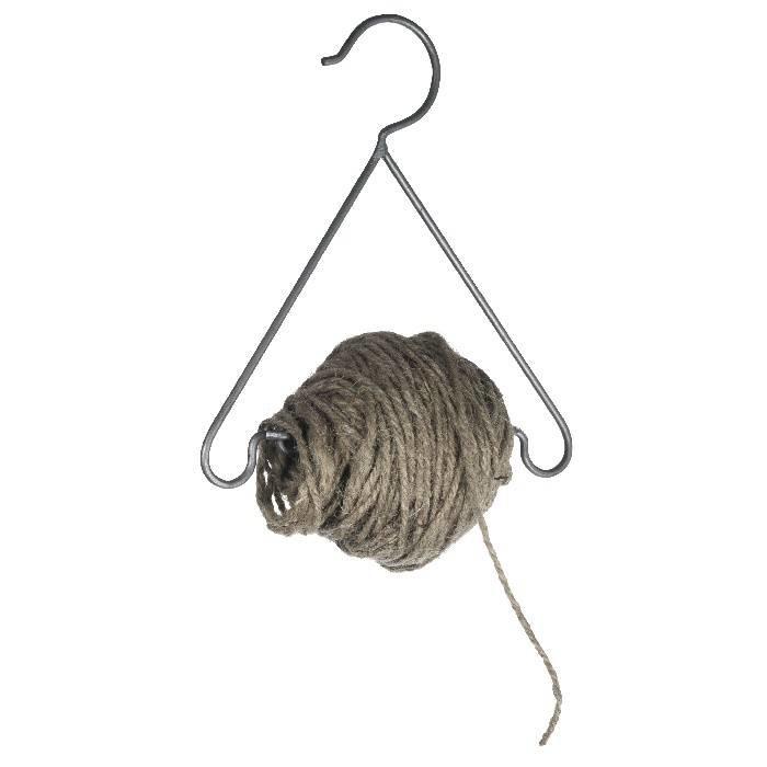 Hangertje met jute touw