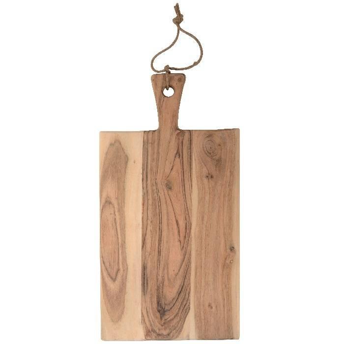 Serveer- / presenteer- snijplank van acaciahout: 48 x 24 cm