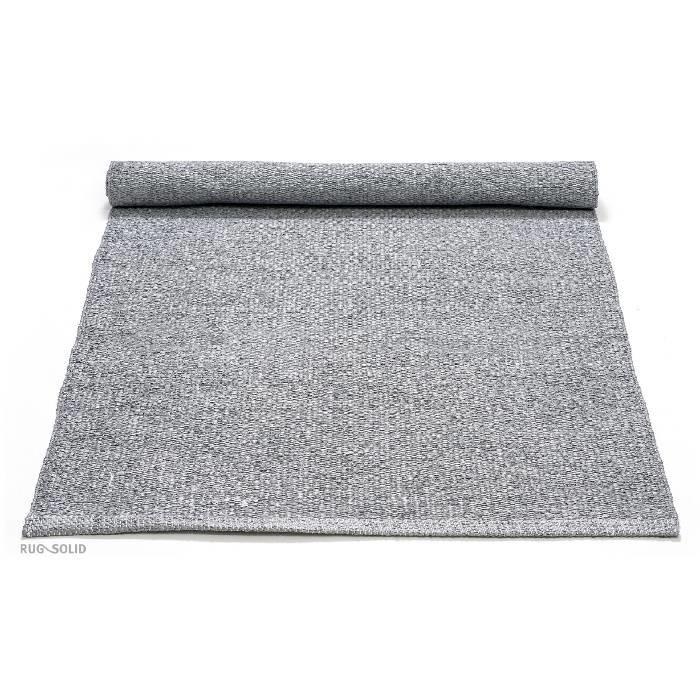 Gerecycled plastic vloerkleed voor buiten: grijs